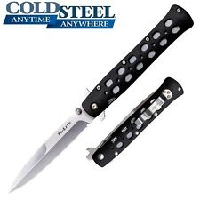 "Cold Steel - 4"" TI-LITE Folding Knife Zytel Handle 26SPZ New"