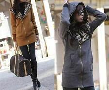 Cotton Blend Animal Print Coats & Jackets for Women