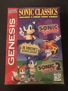 Sonic Classics Sega Genesis Box