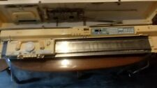 Brother KH-930E Electroknit Knitting Machine w/ Case& Ribber, Tools, Accessories