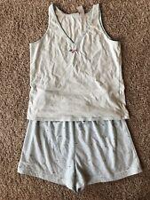 Women's Sleepwear Set Blue Pajamas short set Size S