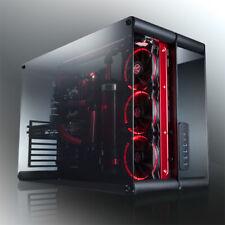 Raijintek PAEAN Benchtable / Showcase - schwarz Window PC Gehäuse Case