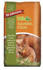 Mr Johnsons Wildlife Grey Black Red SQUIRREL FOOD Seed Nut Fruit Mix Diet 900gm