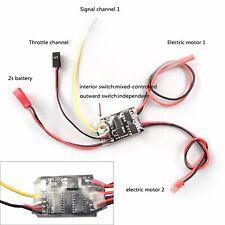 SURPASSHOBBY KK 120A Sensore di velocit/à Brushless senza sensore impermeabile 2-4S 2-6S ESC per parti del modello di auto 1:10 RC 1:10