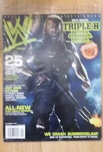 🔥 5 Magazine Lot Triple H WWE The Game HHH NXT Rampage King of Kings