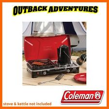 COLEMAN HYPERFLAME GRILL GRATE PLATE - DRIP TRAP TRAY - HEAVY DUTY - EASY CLEAN