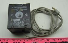 Toy Transformer ~ Gilbert American Flyer  output 14 volts DC 10 watts  input 120