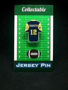 Los Angeles Rams Joe Namath jersey lapel pin-Classic vintage Collectable