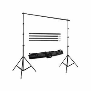 Background Stand Backdrop Support System Kit 8ft by 10ft Wide by Fancierstudio