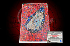 Amazing Spider-man #700 Garcin Collage Print - SIGNED BY SAM DE LA ROSA + SKETCH