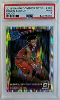 2018-19 Optic Rated Rookie Shock Prizm Collin Sexton RC #180, Graded PSA 9
