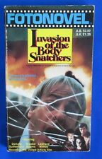 1979 INVASION OF THE BODY SNATCHERS by W.D. Richter Paperback Fotonovel 1st VGN