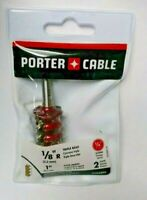 "Porter Cable 43538PC 1/8"" Radius Triple Bead Router Bit 1/4 Shank"