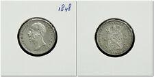 Netherlands - ½ Gulden 1848 Prachtig