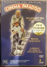 Cinema Paradiso Director'S Cut Edition Dvd Anamorphic Widescreen Italian Film