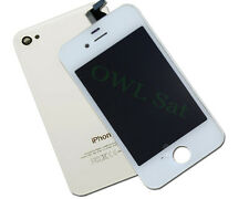 LCD Display inkl Backcover für iPhone 4 S weiß
