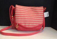 Big Buddha Coral/Stone Shoulder Bag Handbag Great Spring Bag NWT $70