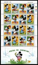 Albania 2590 Cartoon figures, 70 Years Walt Disney-Mickey Mouse 1999. x14349