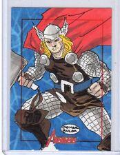 2012 Marvel greatest heroes Jomar Bulba sketch