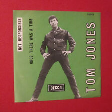 TOM JONES - NOT RESPONSIBLE ONCE THERE WA A TIME 1966 26063 BELGIUM PS