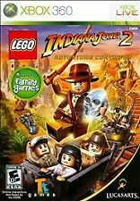 XBOX 360 LEGO Indiana Jones 2: The Adventure Continues Game BRAND NEW SEALED