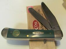 John Deere CASE XX 2 Blade Trapper type pocket knife, NIP. NOS