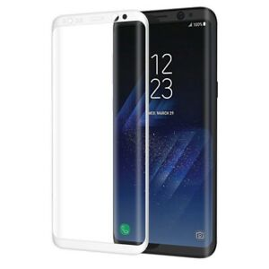 For Samsung Galaxy S9 S8 Note 9 4D Full Cover Tempered Glass Screen Protector SL