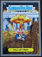GARBAGE PAIL KIDS BNS 1 ADAM BOMB THROUGH HISTORY SILVER card #5