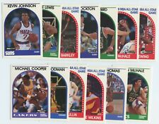 1989 Hoops 13 Card Lot Inc. Kevin Johnson Rookie, Reggie Lewis Rookie, Barkley