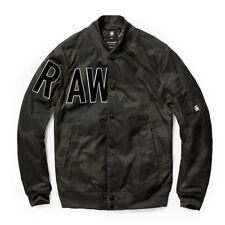 G-STAR RAW SPORTS BOMBER JACKET MILITARY CAMO ASFALT-CARBON M /MEDIUM