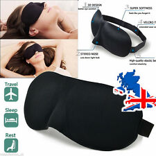 3D Sleep Eye Mask Soft Memory Foam Contoured Eye Mask Eye Shade