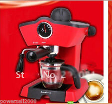 New Red 240ML Espresso Coffee Machine Multi-Function Coffee Maker Coffee Pot