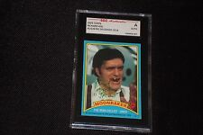 "RICHARD KIEL ""JAWS"" JAMES BOND MOONRAKER 1979 TOPPS SIGNED AUTOGRAPHED CARD SGC"