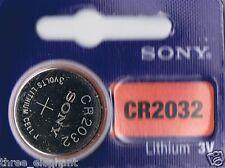 1 New SONY CR2032 CR 2032 Lithium 3v Coin Battery Australia Stock Fast Shipping