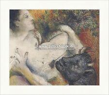 Dora und Minotaurus Ausschnitt Antike Kreta Mythologie Pablo Picasso 075