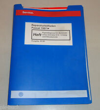 Werkstatthandbuch VW Passat Eigendiagnose Automatik Getriebe 01V 5 G Syncro 1999