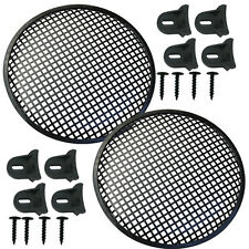 """Speaker Grill 12"""" Round shape 4 each includes plastic clamps w hardware"""