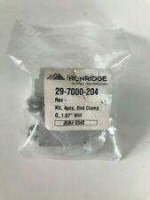 1 bag  contains 4 pcs Ironridge slotted L foot FM-LFT—003 Rev A clear