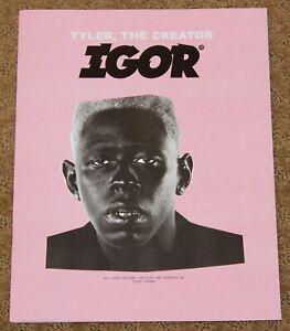 "Tyler, The Creator ""IGOR"" Art Music Album BOOK PRESS KIT"