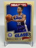 Markelle Fultz 2017-18 NBA Hoops Class of 2017 #1 Rookie RC ( 76ers )