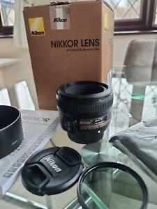 Nikon AF-S Nikkor 50mm f/1.8G *MINT CONDITION*