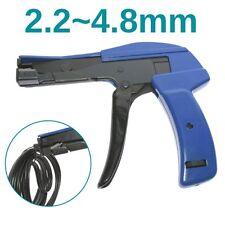 Auto Tensioning Plastic Nylon Zip Cable Tie Gun Cutting Fastener Tension Tool AU