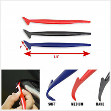 3*Universal Car Vinyl Wrap Tuck Tool Gasket Squeegee For Window Tint Application