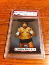 2010 Topps Platinum Husky Harris Bray Wyatt Rookie Wrestling Card PSA 9 WWE NXT