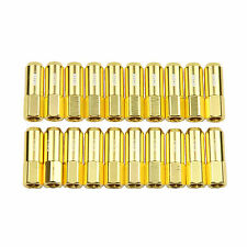 20 Gold 60MM Tuner Wheel Lug Nuts M12x1.5 Aluminum Extended fits Honda Acura
