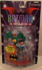 Batman Beyond Power Armor Batman (Unmasked Terry McGinnis) with R.O.B.I.N.  MOC