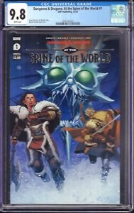 Dungeons & Dragons: At the Spine of the World #1 (IDW, 2020) CGC 9.8