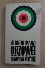 68688 Alberto Manzi - Orzowei - Bompiani editore 1961
