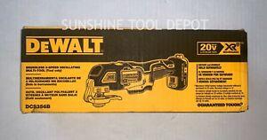 Dewalt DCS356B 20V Cordless Brushless Oscillating MultiTool 20 volt 2 Blades