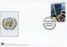 United Nations 2018 FDC UN New York NY HQ Definitives 1v Cover Skycrapers Stamps